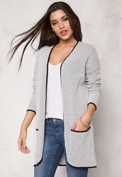 ONLY Diamond L Cardigan Cloud Dancer Bubbleroom.se