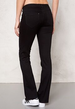 ONLY Flared Derry Jeans Black Bubbleroom.se