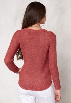 ONLY Geena L/S Pullover noos Faded Rose Bubbleroom.se