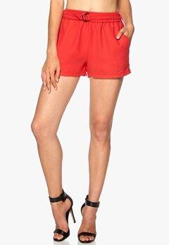 ONLY Karin Shorts Poppy Red Bubbleroom.se