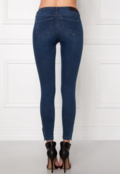 ONLY Kendell Ankle Jeans Dark Blue Denim Bubbleroom.se