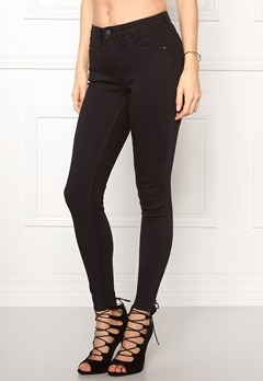 ONLY Kendell Ankle Jeans Black Bubbleroom.se
