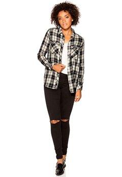 ONLY Lamponi Haley Shirt Black Bubbleroom.se