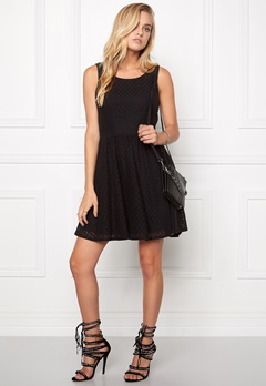 ONLY Line fairy lace dress Black Bubbleroom.se