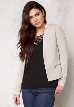ONLY Madeline blazer jacket Pumice stone Bubbleroom.se
