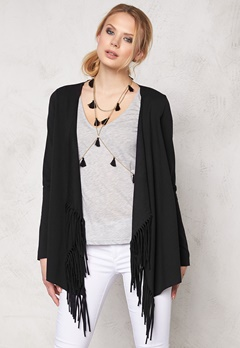 ONLY Madge l/s Cardigan Black Bubbleroom.se