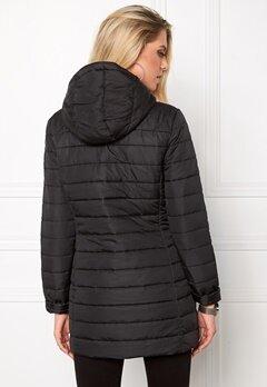 ONLY Marit Quilted Hood Jacket Black Bubbleroom.se