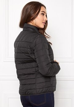 ONLY Marit Quilted Jacket Black Bubbleroom.se