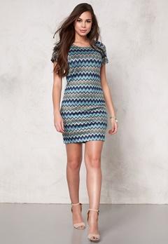 ONLY Missa S/S Dress Blueprint Bubbleroom.se