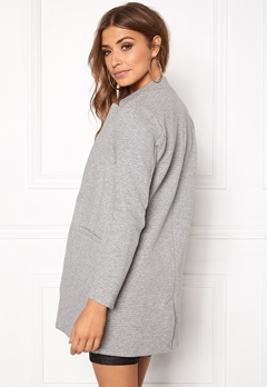 ONLY Mya Soft Blazer Jacket Light Grey Melange Bubbleroom.se