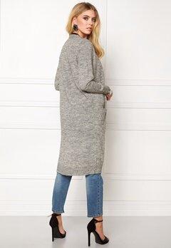 ONLY New Hayley L/S Cardigan Light Grey Melange Bubbleroom.se