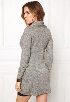 ONLY New Hayley Zip Cardigan Light Grey Melange Bubbleroom.se