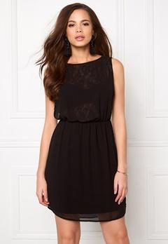 ONLY New Hiro S/L Dress Black Bubbleroom.fi