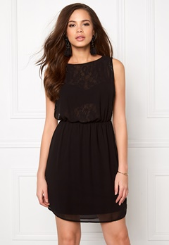 ONLY New Hiro S/L Dress Black Bubbleroom.se