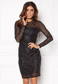 ONLY New Lisa L/S Dress Black Bubbleroom.fi