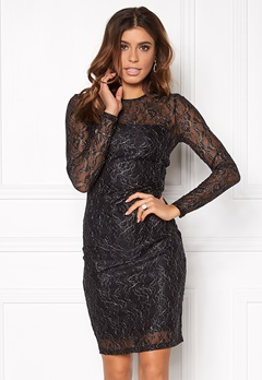 ONLY New Lisa L/S Dress Black Bubbleroom.se