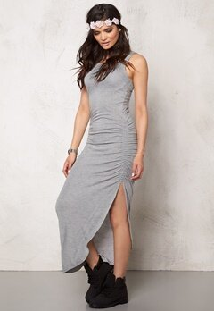 ONLY New Ria Dress Light Grey Melange Bubbleroom.se