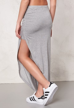 ONLY New Ria Skirt NOOS Light Grey Melange Bubbleroom.se