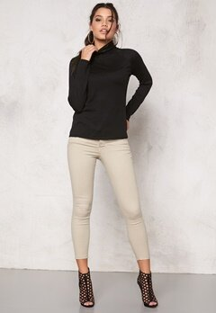 ONLY Passion Win Rollneck Black Bubbleroom.se
