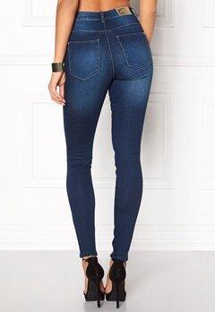 ONLY Piper HW Skinny Jeans Medium Blue Denim Bubbleroom.se