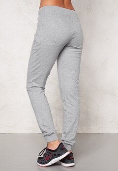 ONLY PLAY Arlette Slim Sweat Pants Light Grey Melange Bubbleroom.se