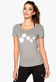 ONLY PLAY Basic SS Tee Light Grey Melange Bubbleroom.se