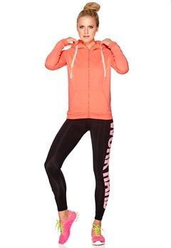 ONLY PLAY Essence Zip Sweat Bright Orange Bubbleroom.se