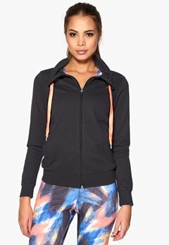 ONLY PLAY Grace Zip Sweatshirt Phantom Bubbleroom.se