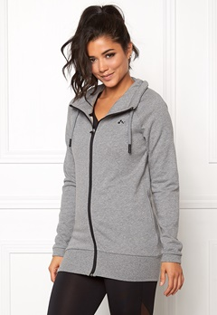ONLY PLAY Oversized Sweat Medium Grey Melange Bubbleroom.se