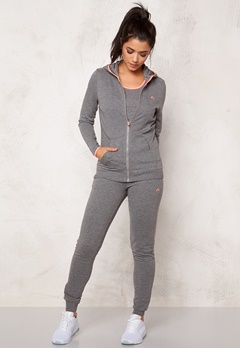 ONLY PLAY Rosa Sweat Hoodie Medium Grey Melange Bubbleroom.se