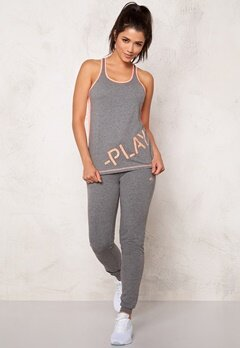 ONLY PLAY Rosa Tank Top Medium Grey Melange Bubbleroom.se