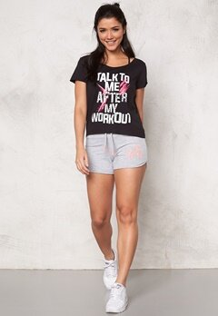 ONLY PLAY Salene Cropped Loose Tee Black Bubbleroom.se