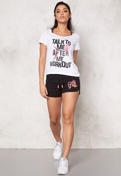 ONLY PLAY Salene Cropped Loose Tee White Bubbleroom.se