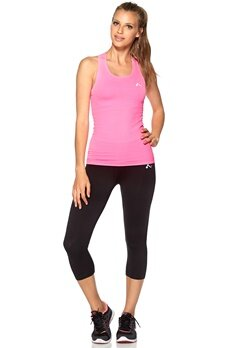 ONLY PLAY Solange Seamless Tank Neon Pink Bubbleroom.se
