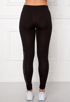 ONLY PLAY Tanya Jersey Leggings Black/Coral Bubbleroom.se