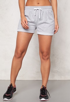 ONLY PLAY Viola Sweat Shorts Light Grey Melange Bubbleroom.se