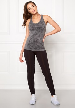 ONLY PLAY Zena Seamless Tank Top Dark Grey Melange Bubbleroom.se