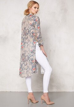 ONLY Radmila l/s Long Shirt Pumice Stone Bubbleroom.se