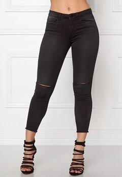 ONLY Royal Reg Ankle Jeans Dark Grey Denim Bubbleroom.se