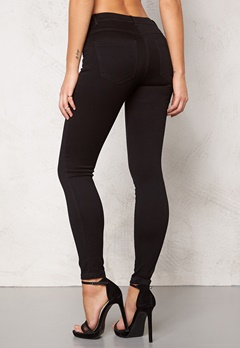 ONLY Royal Skinny Zip Black Bubbleroom.se