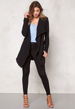 ONLY Runa Spring Coat Black Bubbleroom.se