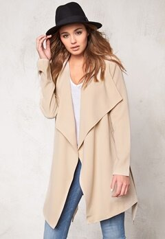 ONLY Runa Spring Coat Dove Bubbleroom.se