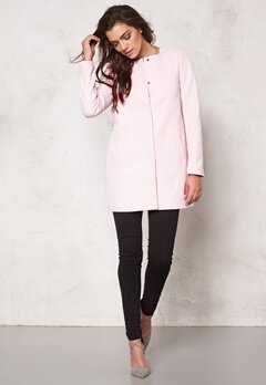 ONLY Sidney Spring Coat Barely Pink Bubbleroom.se
