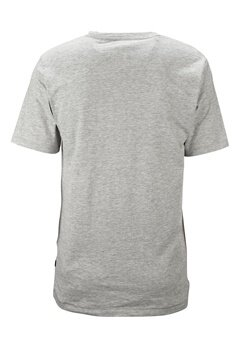 ONLY & SONS Axel fitted tee Medium grey melange Bubbleroom.se