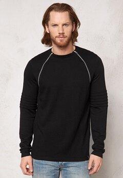 ONLY & SONS Crew neck knit Black Bubbleroom.se
