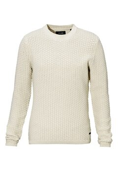 ONLY & SONS Doc Crew Neck Knit Oatmeal Bubbleroom.se