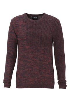 ONLY & SONS Duncan Crew Neck Knit Rosewood Bubbleroom.se