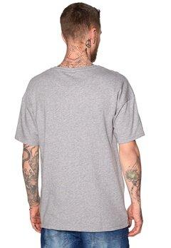 ONLY & SONS Edmund O-neck Tee Light Grey Melange Bubbleroom.se