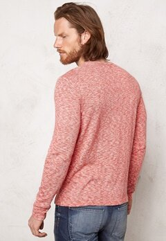ONLY & SONS Esben Crew Neck Knit Cranberry Bubbleroom.se