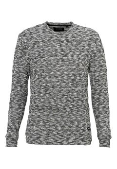 ONLY & SONS Felicito Knitted Crewneck Black Bubbleroom.se
